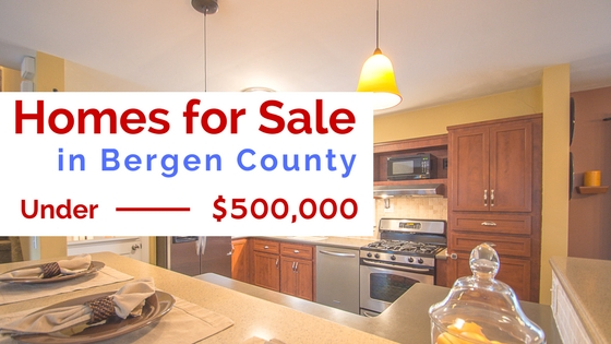 Homes for Sale In Bergen County Under $500,000